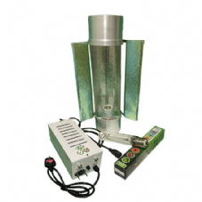 "Pro Gear ( Horti Gear ) 600W With Cool Tube 6"" Reflector and Sunmaster Dual Spectrum HPS Lamp"